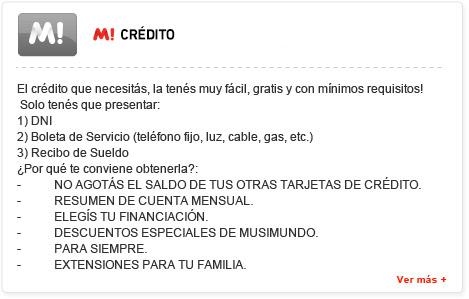 M! Crédito